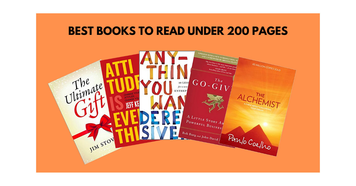 best books under 200 pages