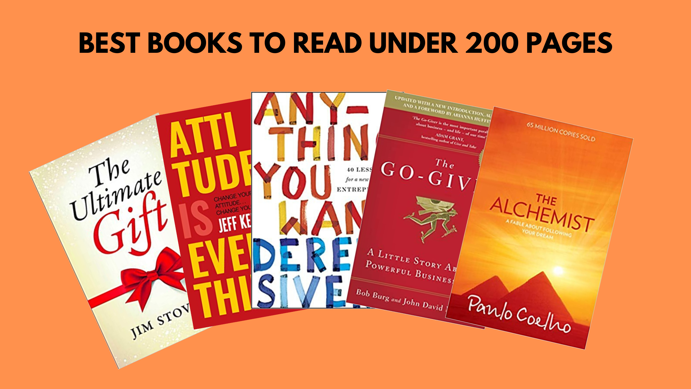 Best Books Under 200 Pages To Read The Improvement Terminal