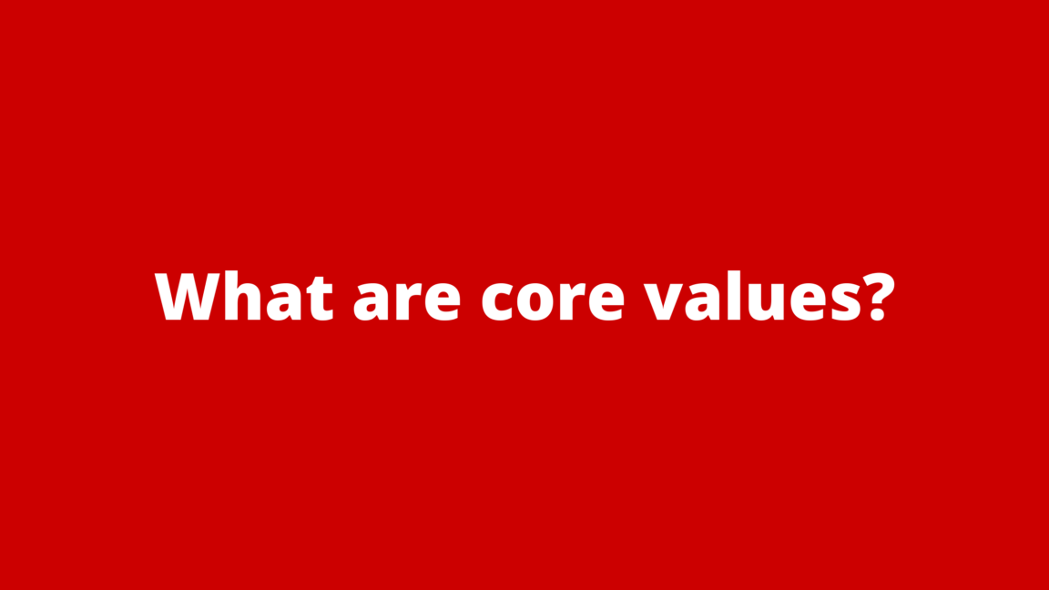 what-are-core-values